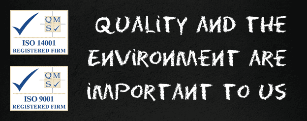 Quality And The Environment Are Important To Us